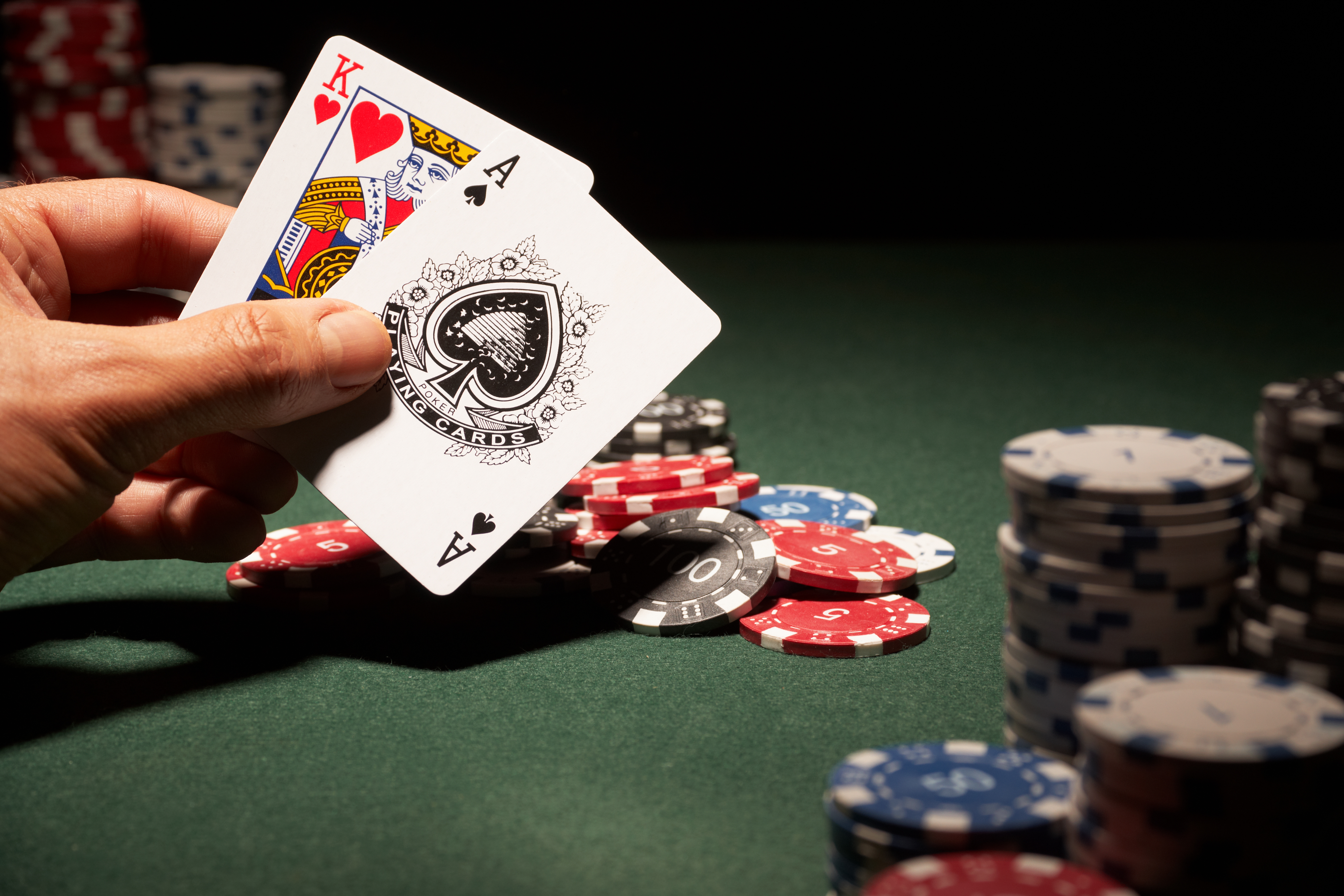 texas holdem card order